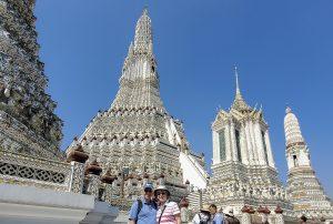 In Bangkok at the Temple of Dawn